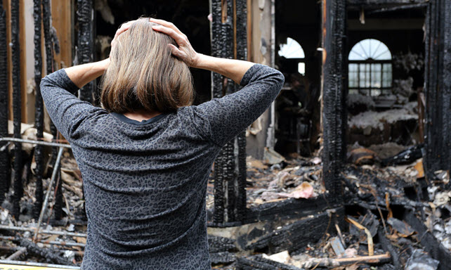 Cleaning Residential Property Damaged by Fire and Smoke