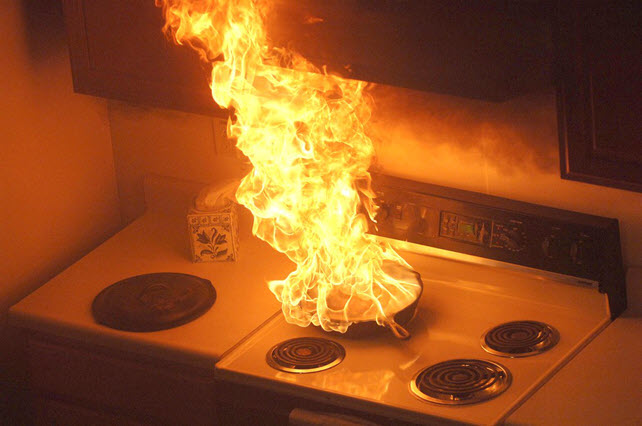 Tips How to Avoid Cooking Fires at Home on Holidays